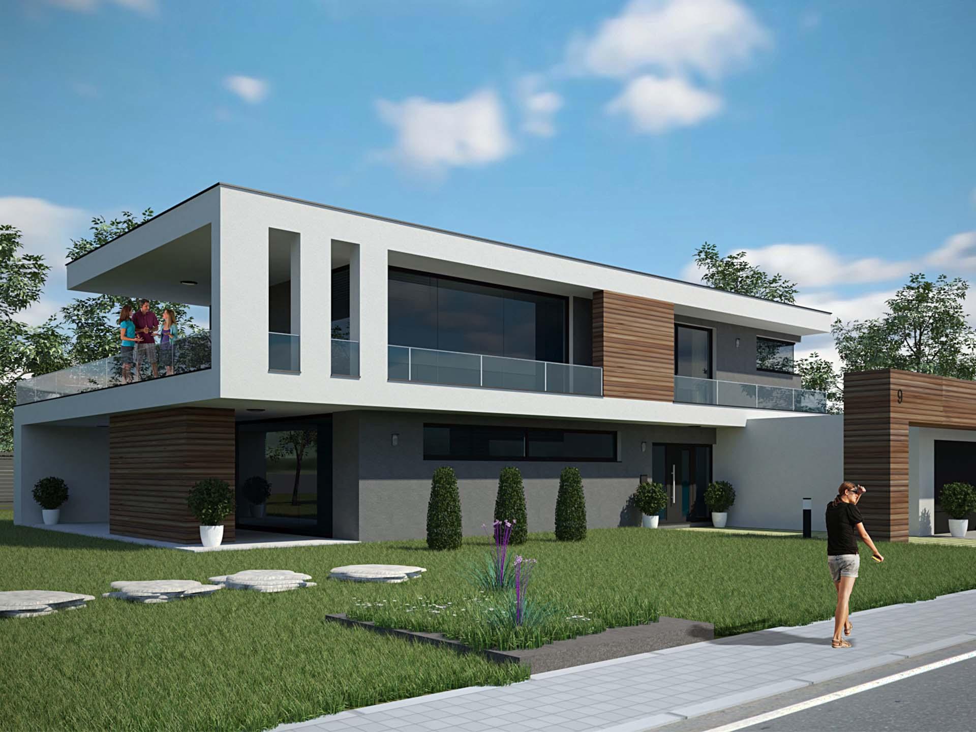 ARGISOL Bausysteme Haustyp Bauhaus
