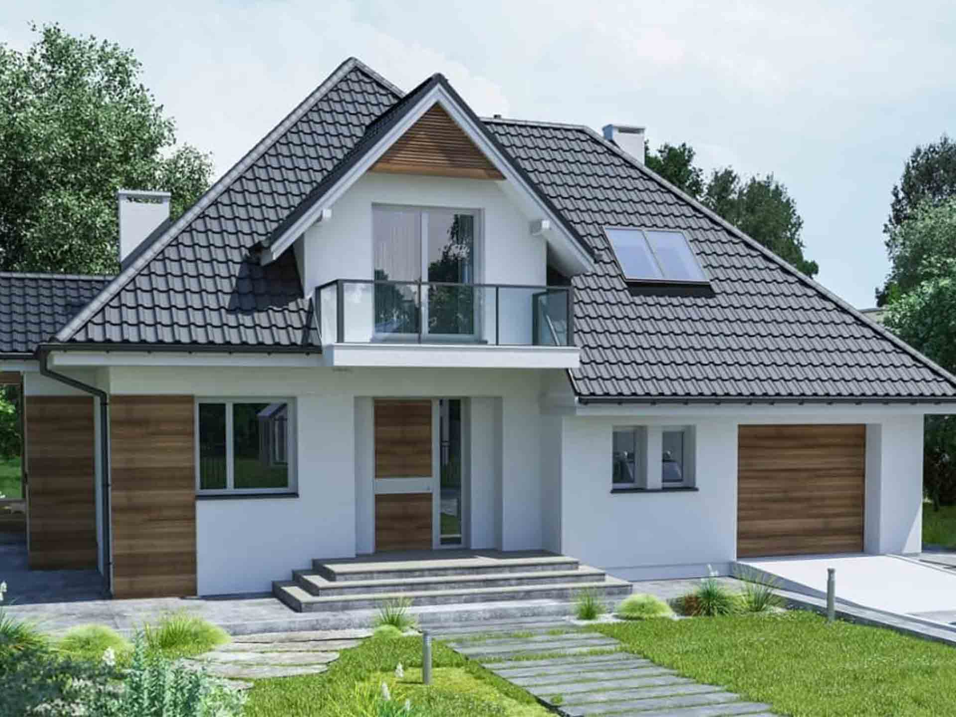 Ando-Haus Hausvisualisierung