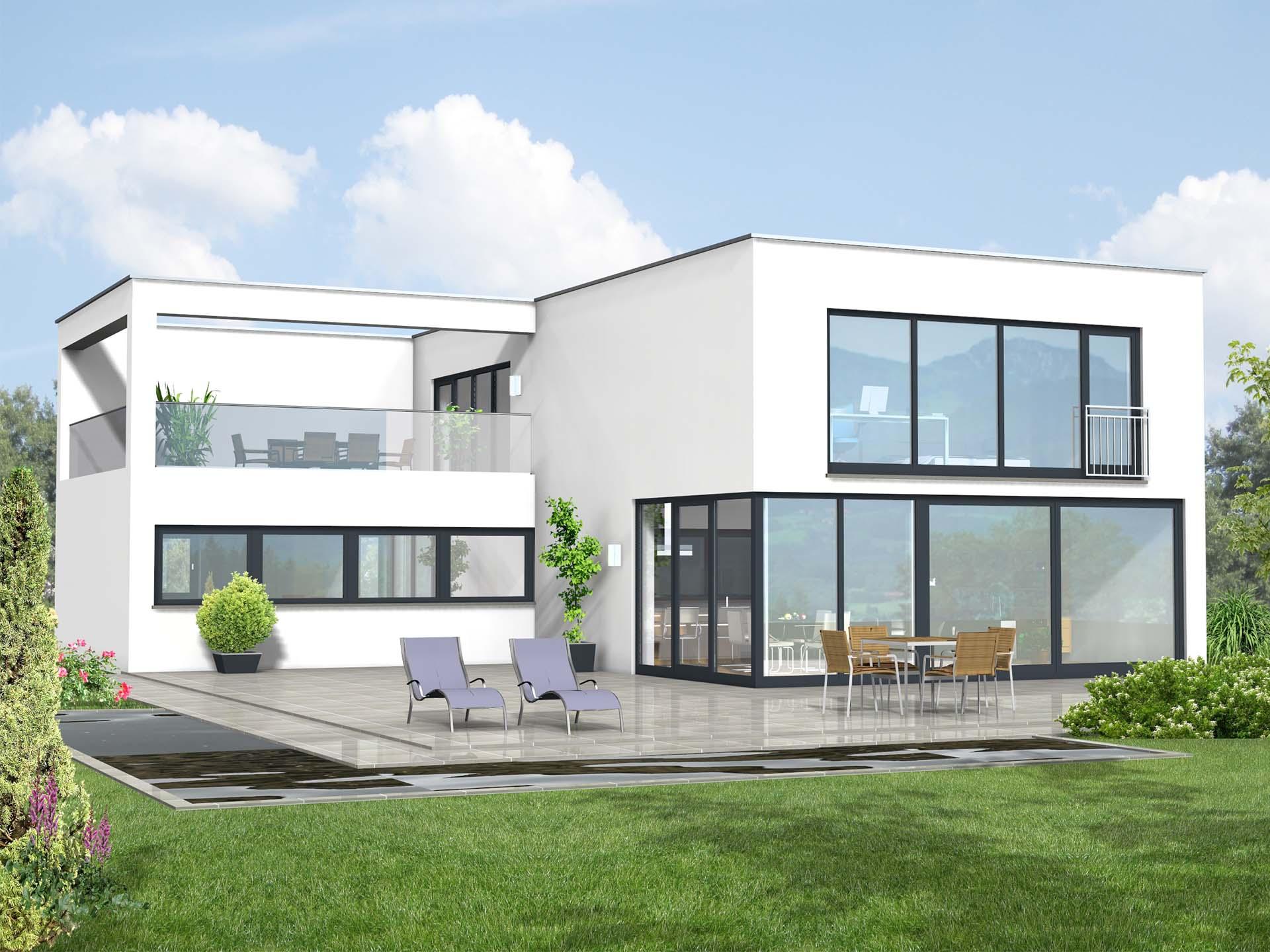 Projekt Hausbau PHB - Kubushaus