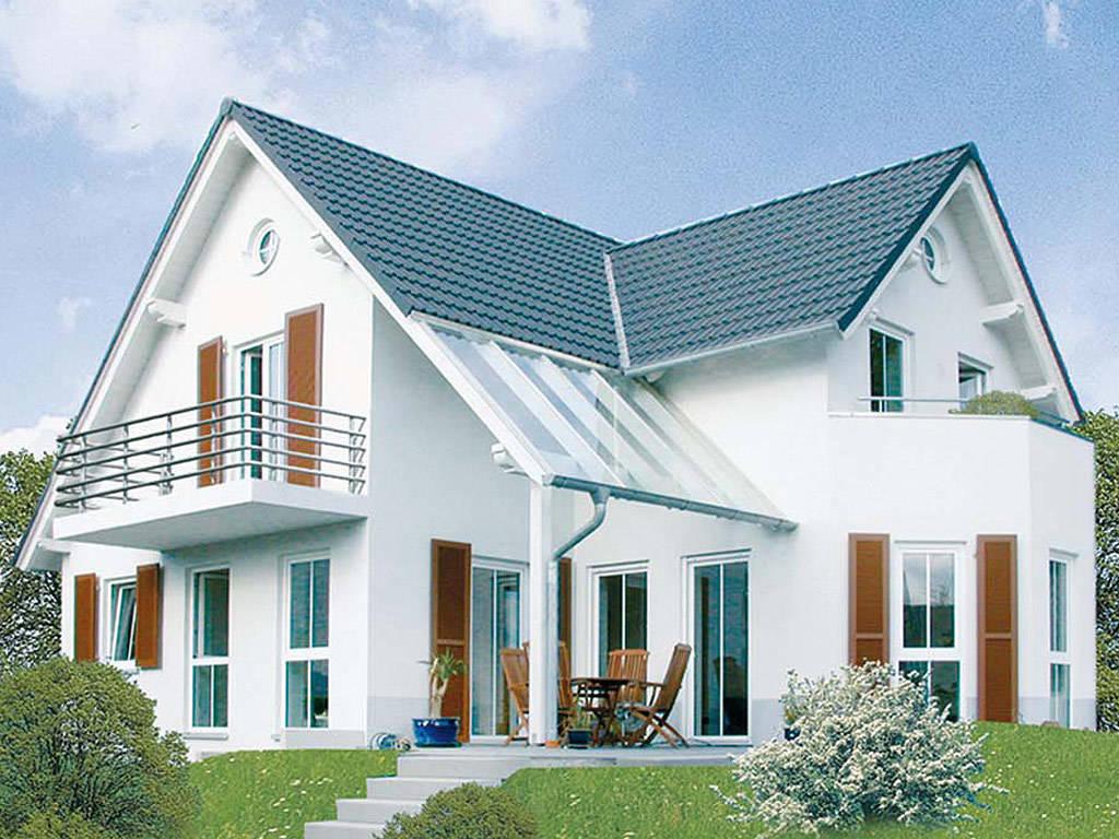 Einfamilienhaus Modern 4 von Stein auf Stein Massivhaus