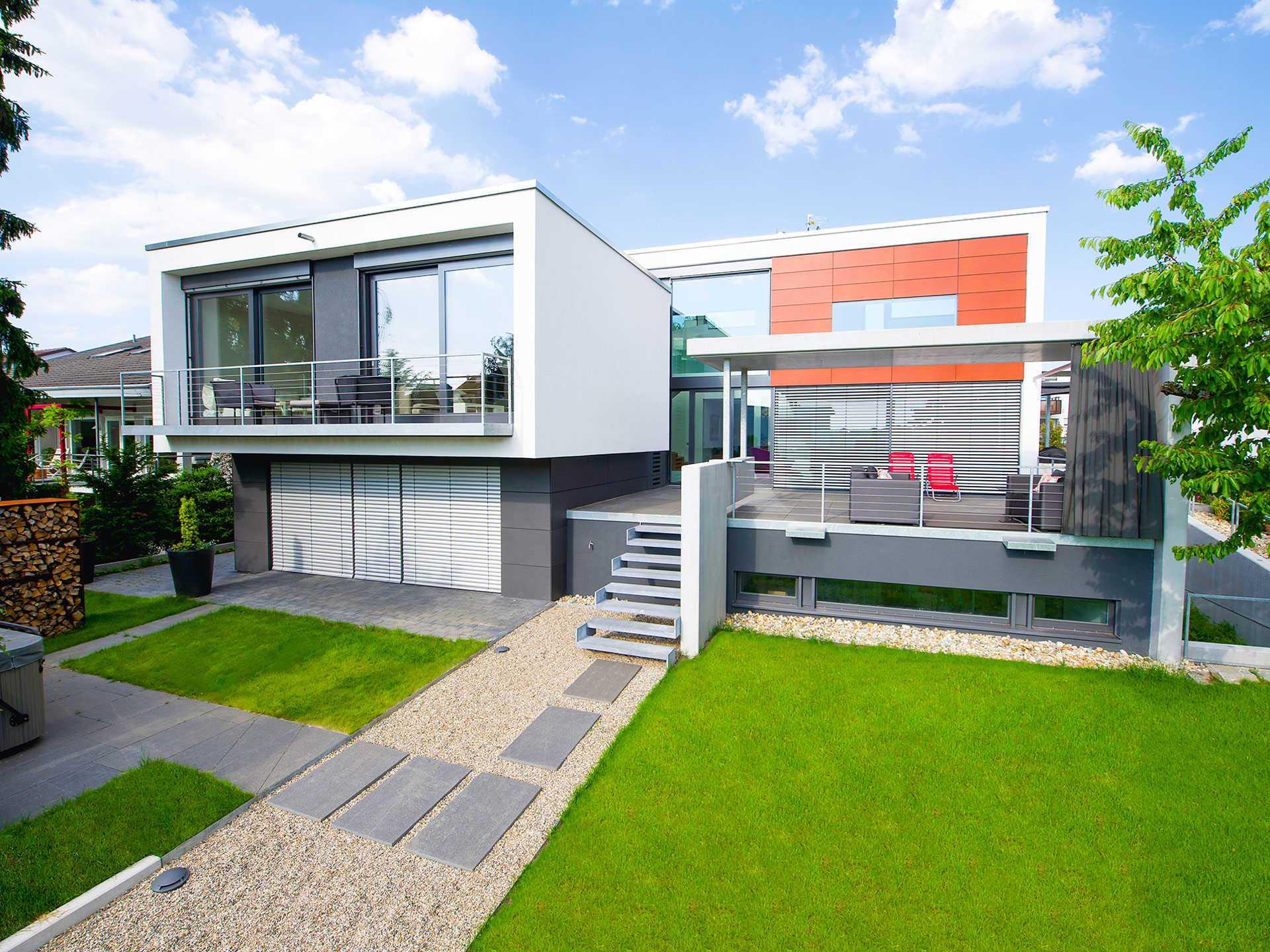 Bodenseehaus Bau Referenzhaus