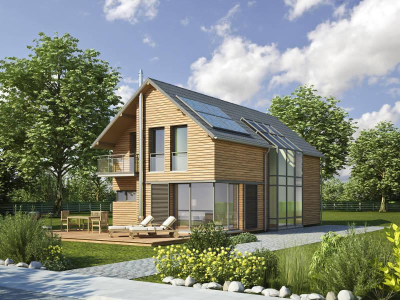 Typenhaus Style Satteldach von iQ Hausbau