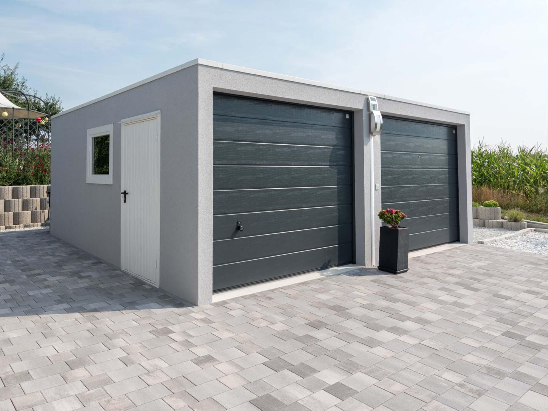ZAPF Garagen Doppelgarage