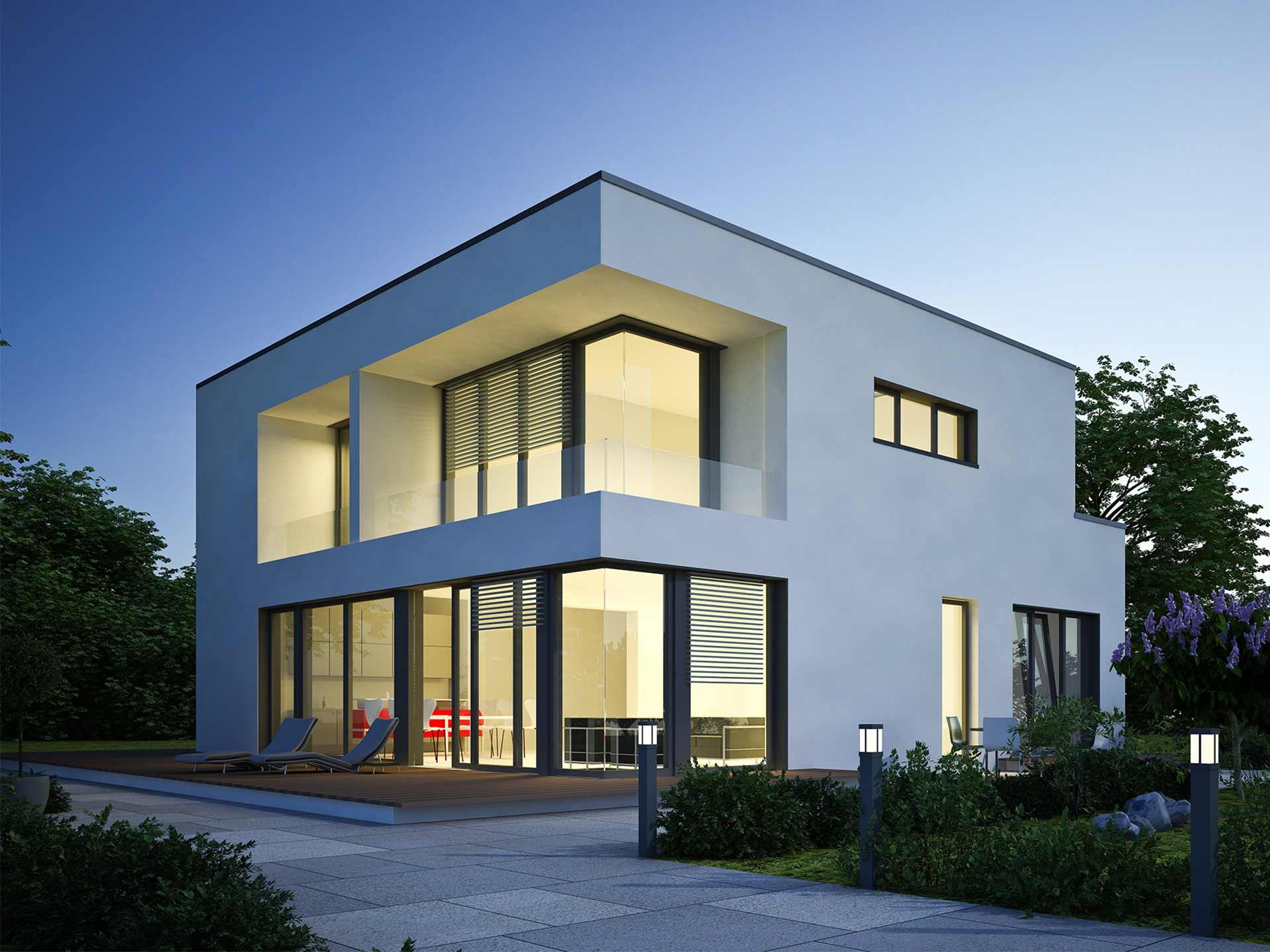 Antaris Bau Haustyp Bauhaus