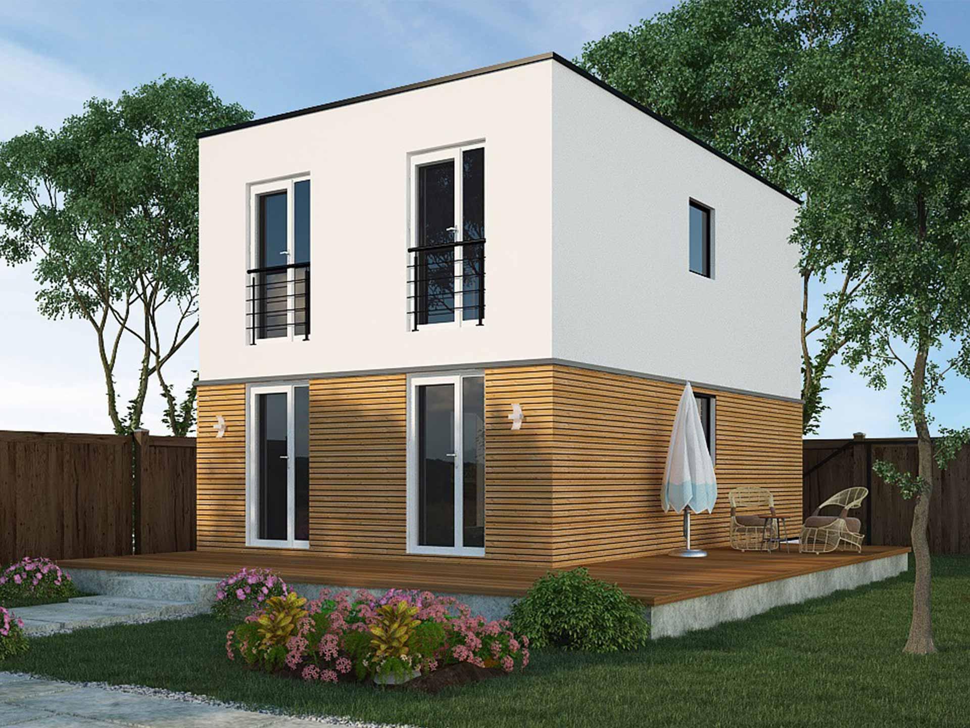 Ampro Projekt Modulhaus