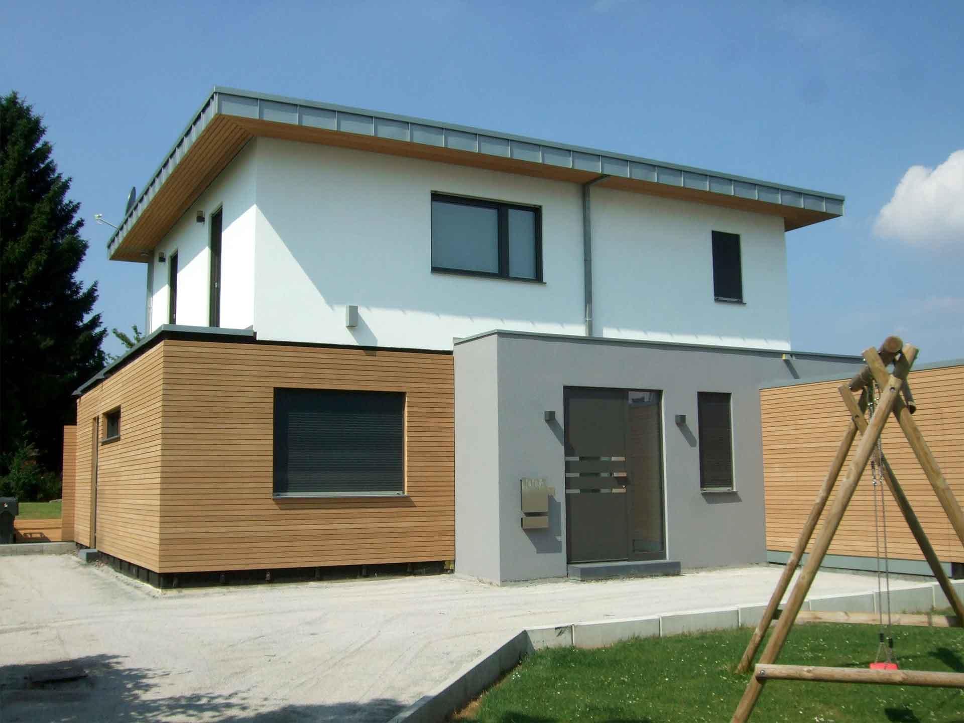 Holzbau Grote Stadtvilla
