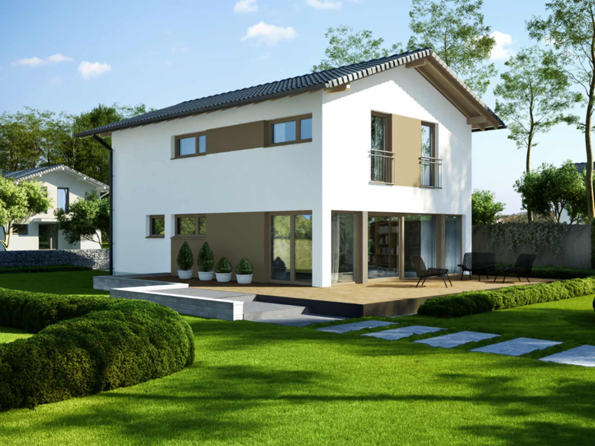 Werth-Holz Hausbau Satteldachhaus