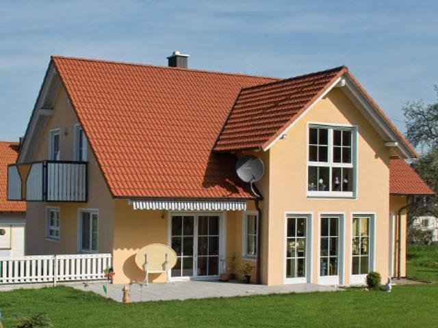 Einfamilienhaus Ökovital 40 Variante 1 von BAUCO MASSIVHAUS
