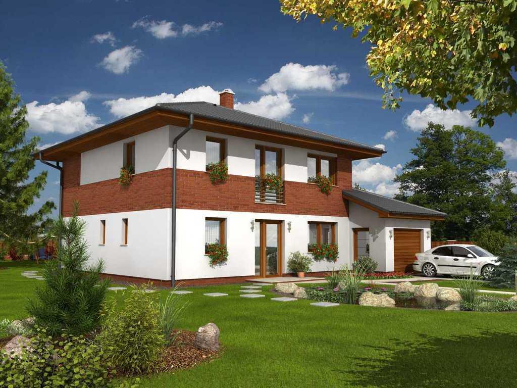Venera Niedrigenergiehaus Stadtvilla mit Zeltdach