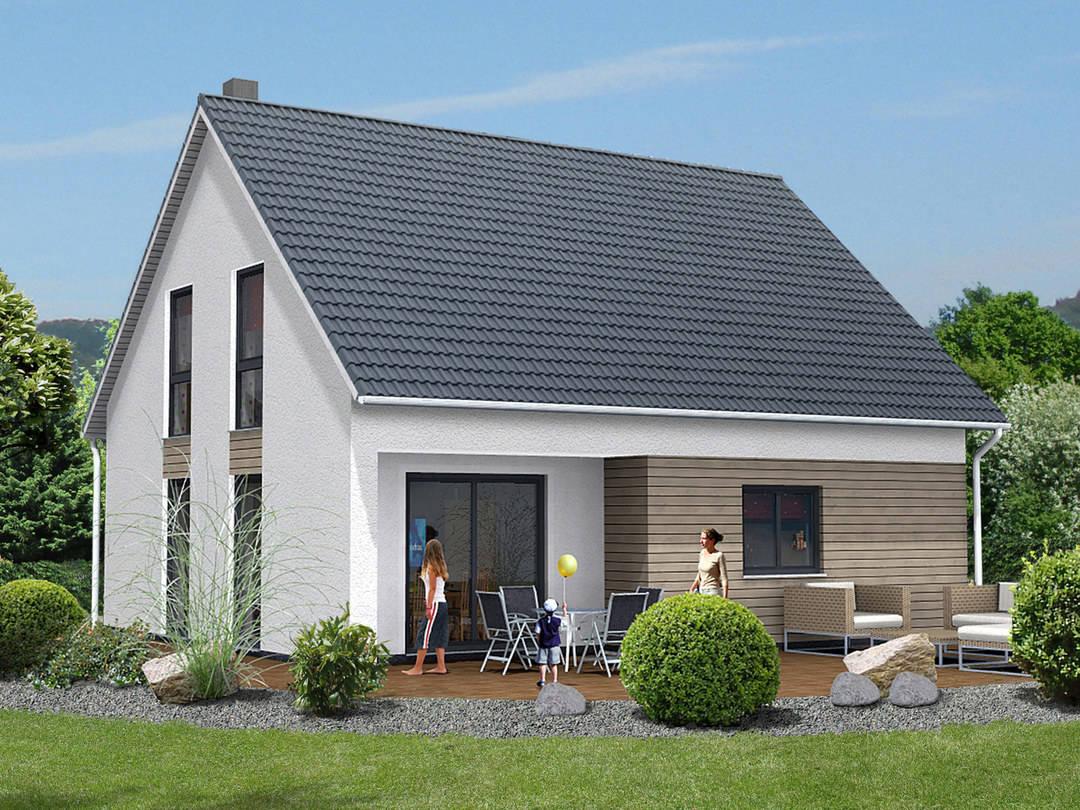 YTONG Bausatzhaus Kompakthaus 114