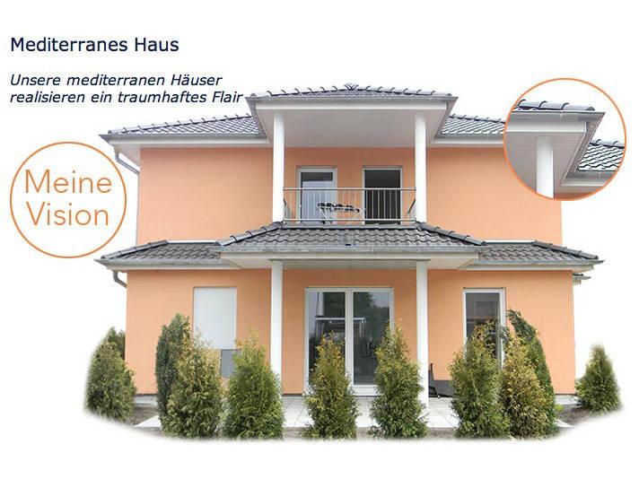 Mediterranes Haus von Meisterbau Nord