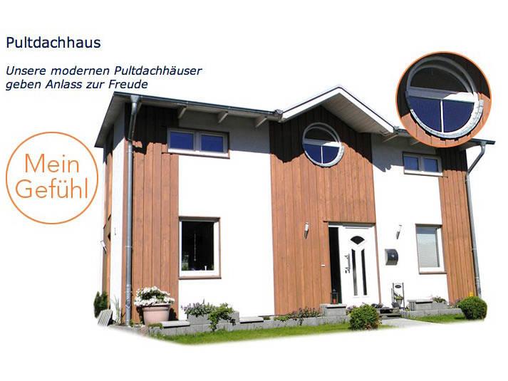 Pultdachhaus von Meisterbau Nord