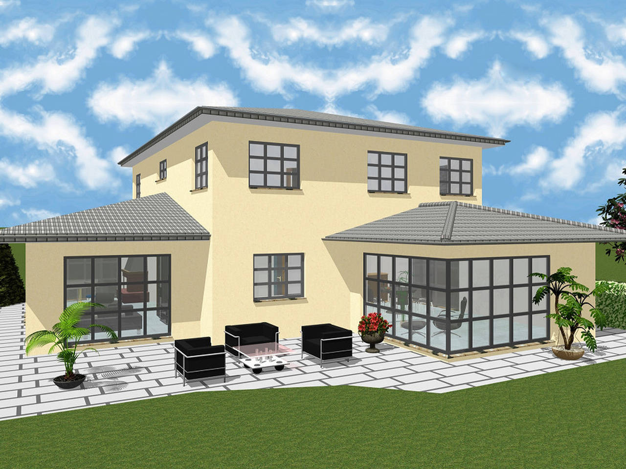 Einfamilienhaus 214 von KMT Massivhaus