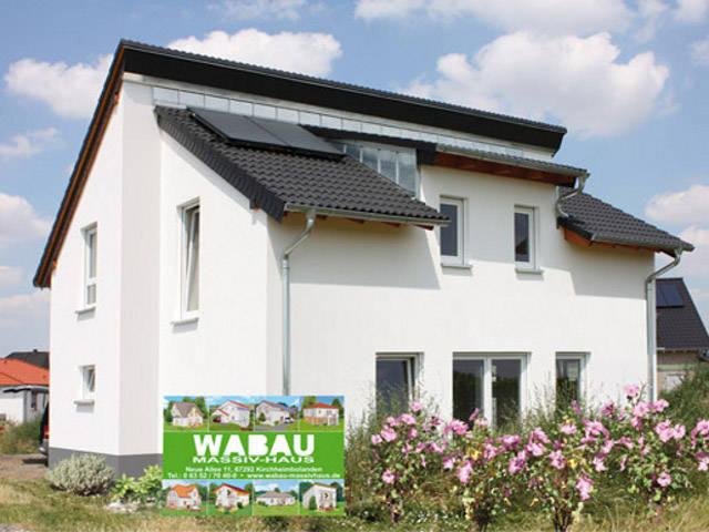 Pultdachhaus von WABAU Massivhaus
