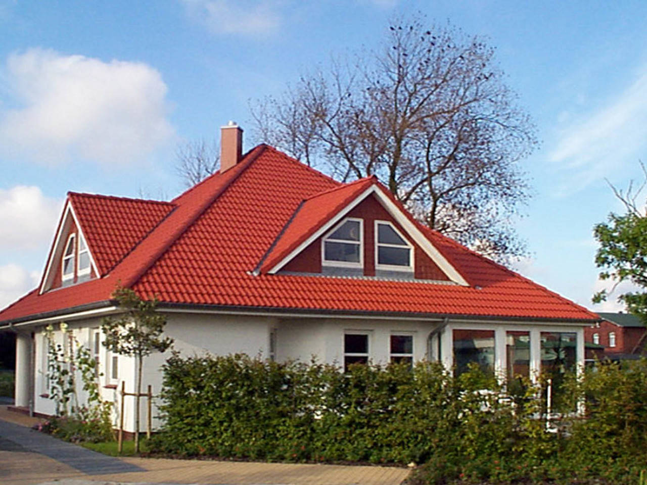 Zeltdach Haus Baerwolf Bauregie