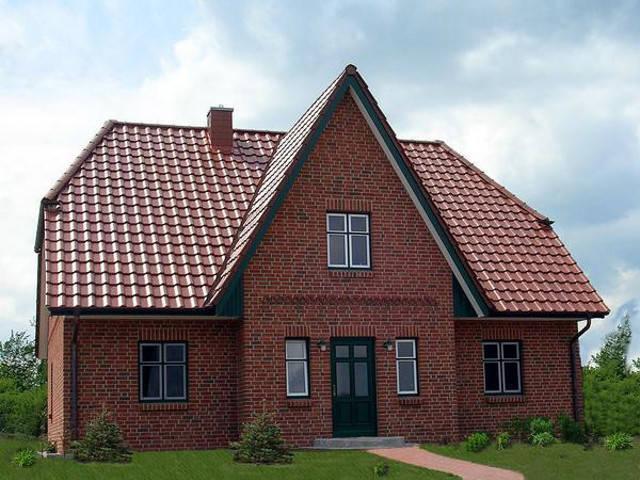 Trave Massivhaus - Friesenhaus Dreigiebel