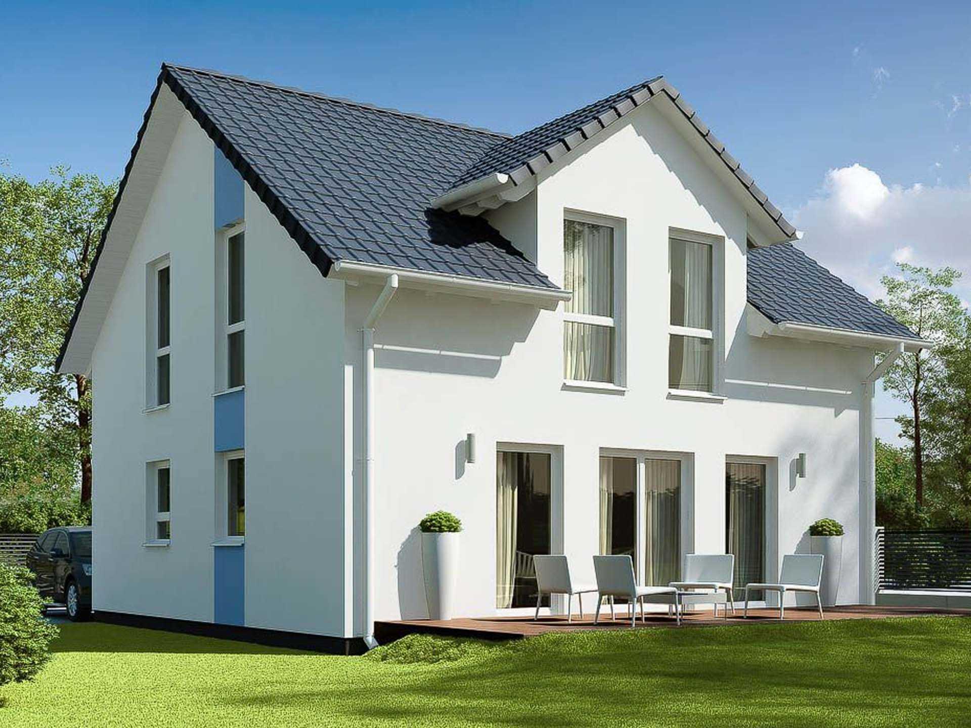 ekodom Hausbau - Einfamilienhaus