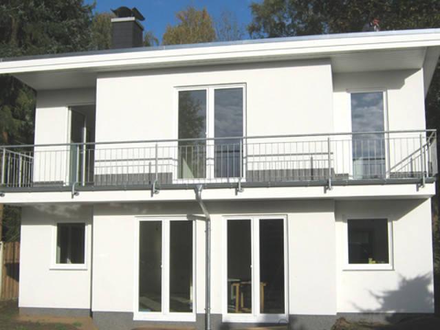Burgbau Haus BBH 123 Stadthaus