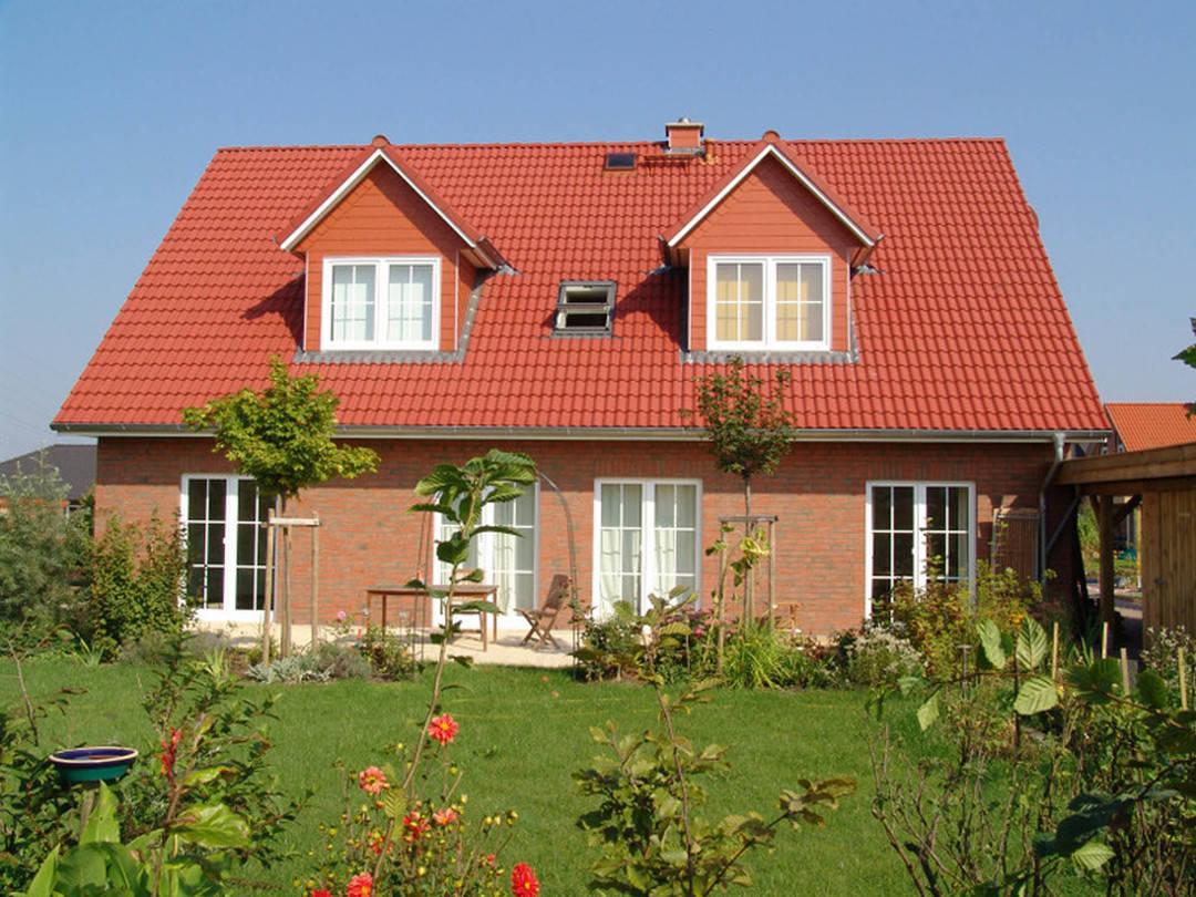 Einfamilienhaus Logo-Bau