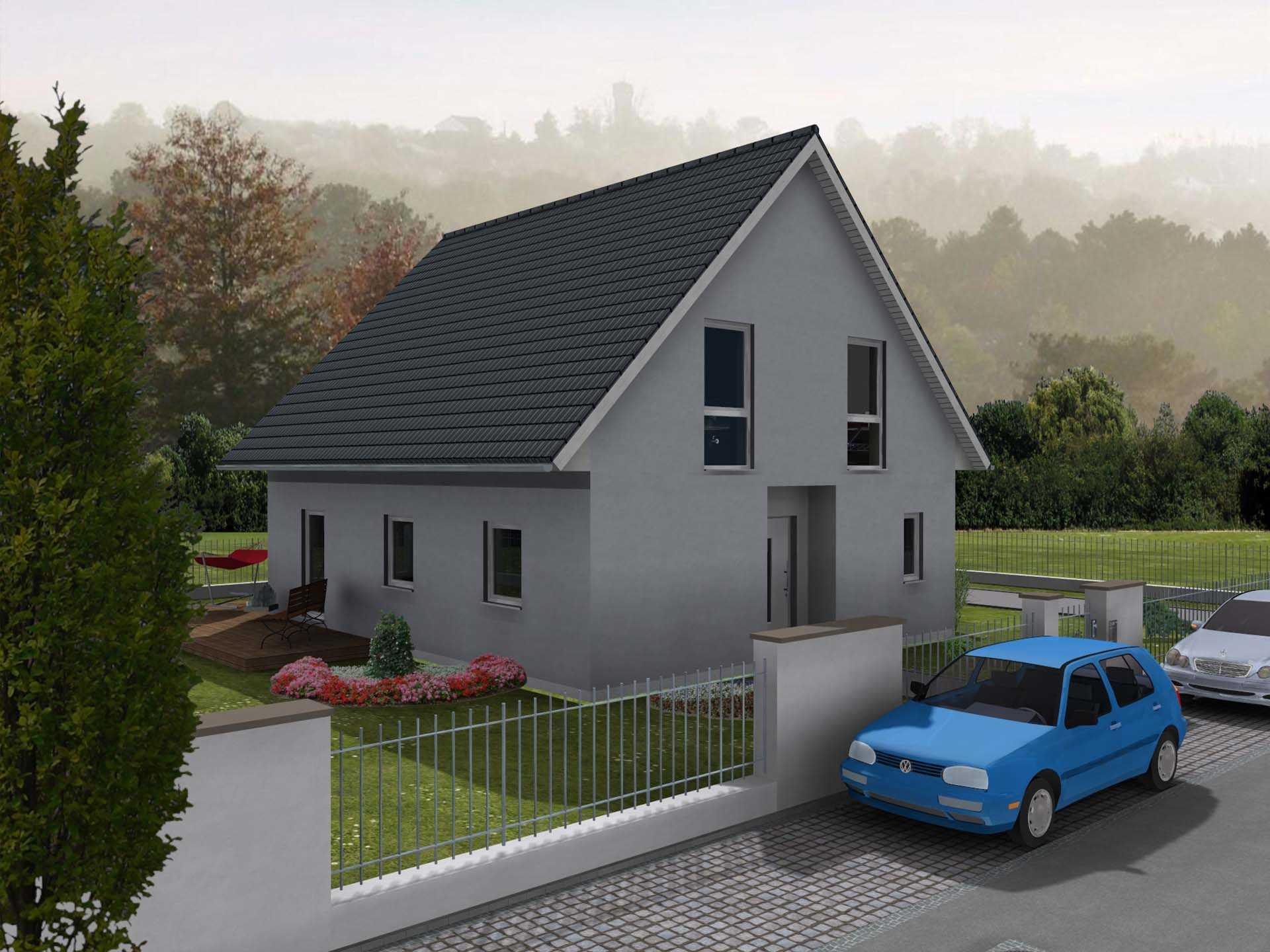 Einfamilienhaus Compact 148 - preiswert-bauen24