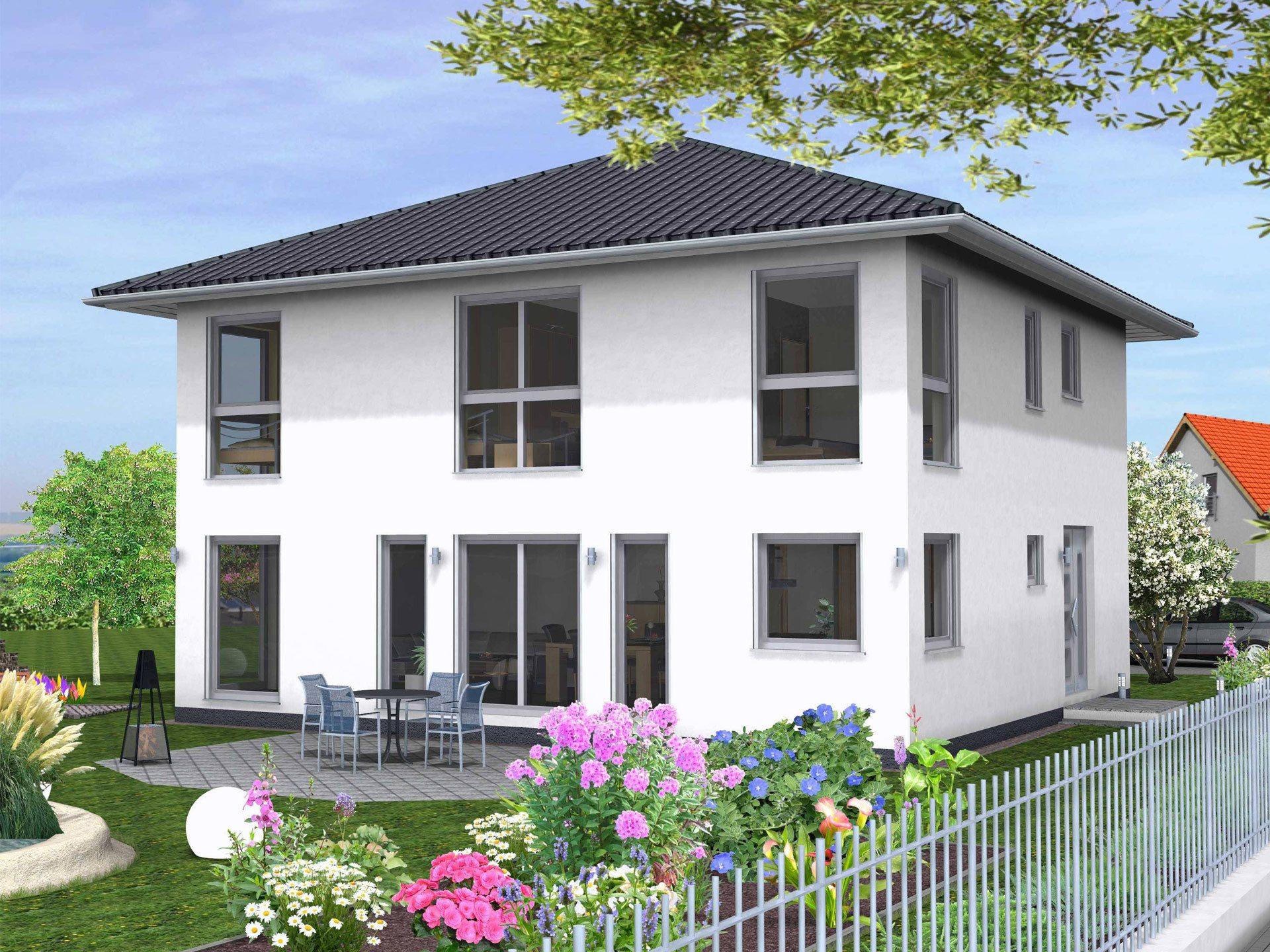 Drevo Haus Hausbeispiel