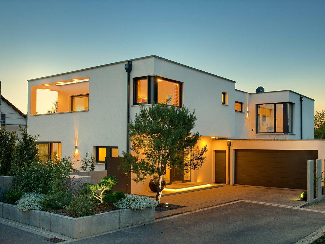 Gruber Holzhaus Bauhausstil