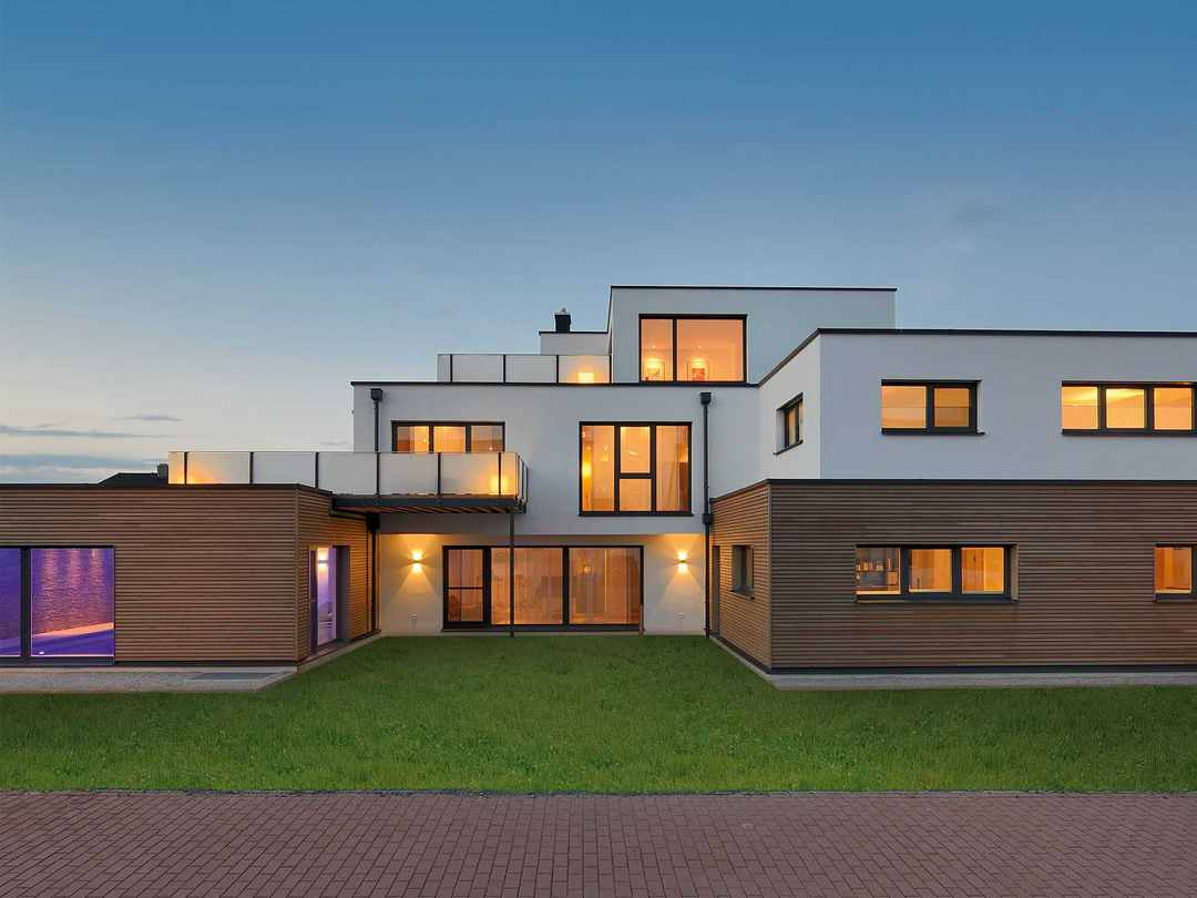Gruber Holzhaus Bauhaus