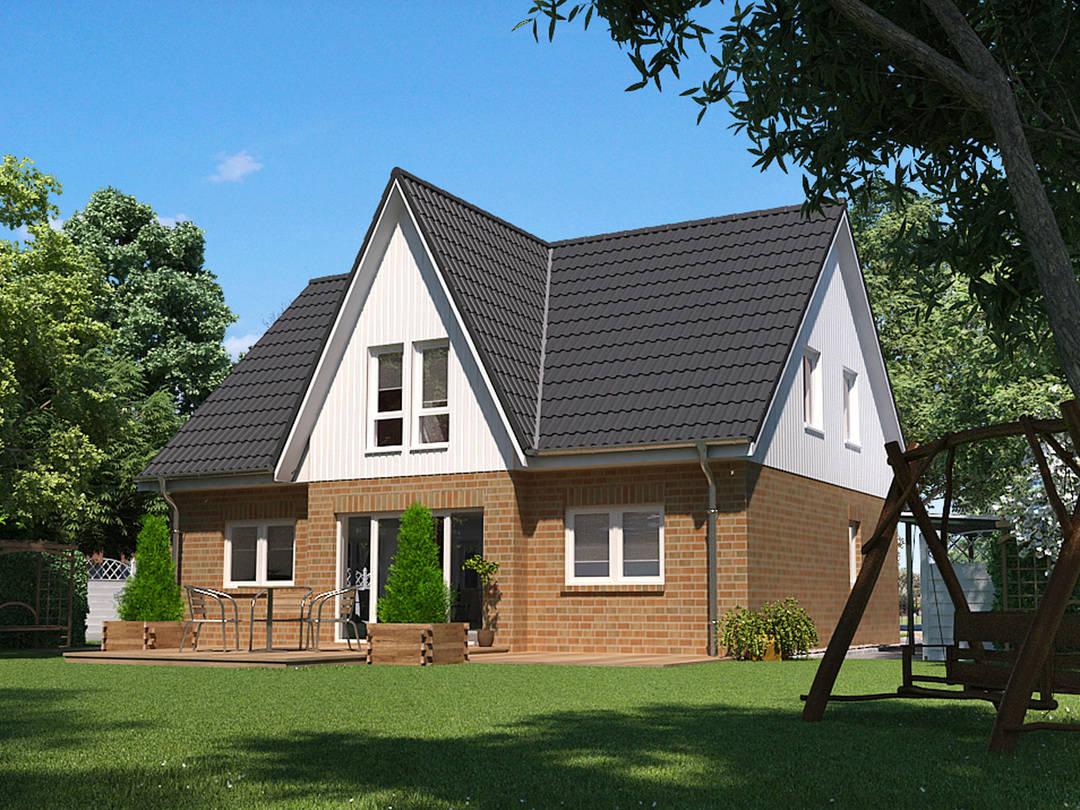 Einfamilienhaus Birke 166 von Baufuchs Massivhaus