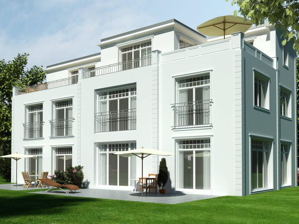 Doppelhaus Blankenese von HESS MASSIVBAU