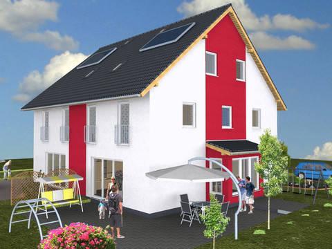 Doppelhaushälfte Sunshine 2 von der sc. massivhaus Wonnegau GmbH