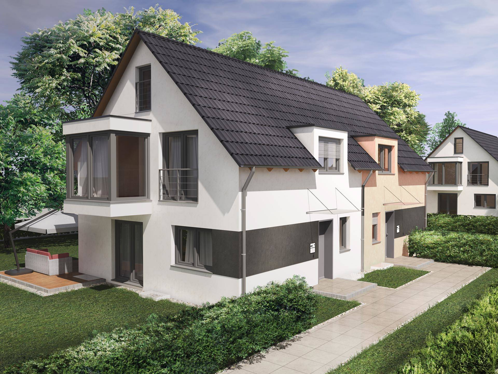 Saale-Haus Beispielhaus 1