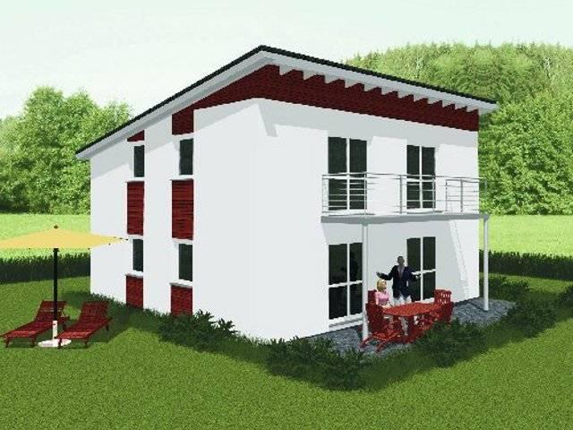 Pultdachhaus von Dominic Lang Hauskonzepte