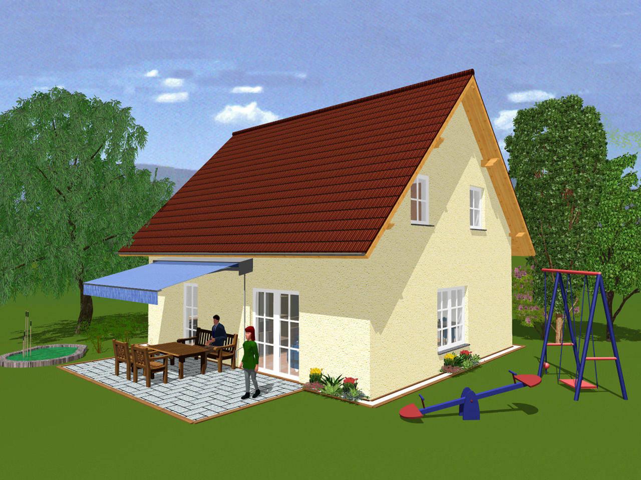 Musterhaus B115 von BHB - Broy-HausBau