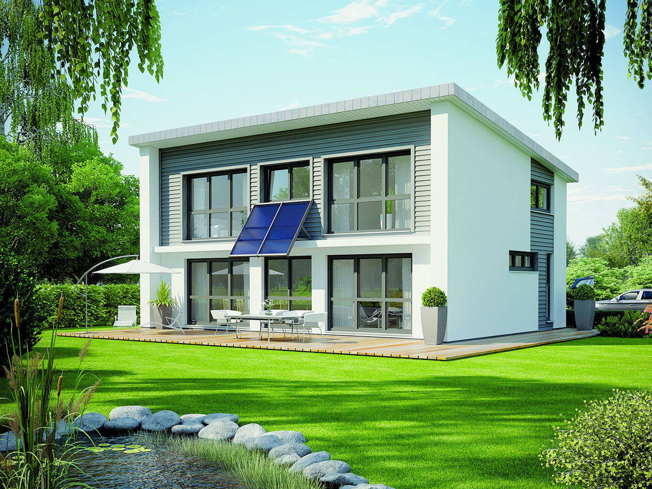 Haus Energy 142 von Öko-domo