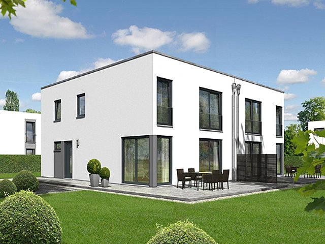 Doppelhaus City von Dr. Schildknecht Baubetreuungs- GmbH Town & Country Lizenzpartner