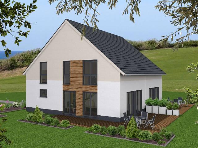 Doppelhaus von Lik-Wohnbau
