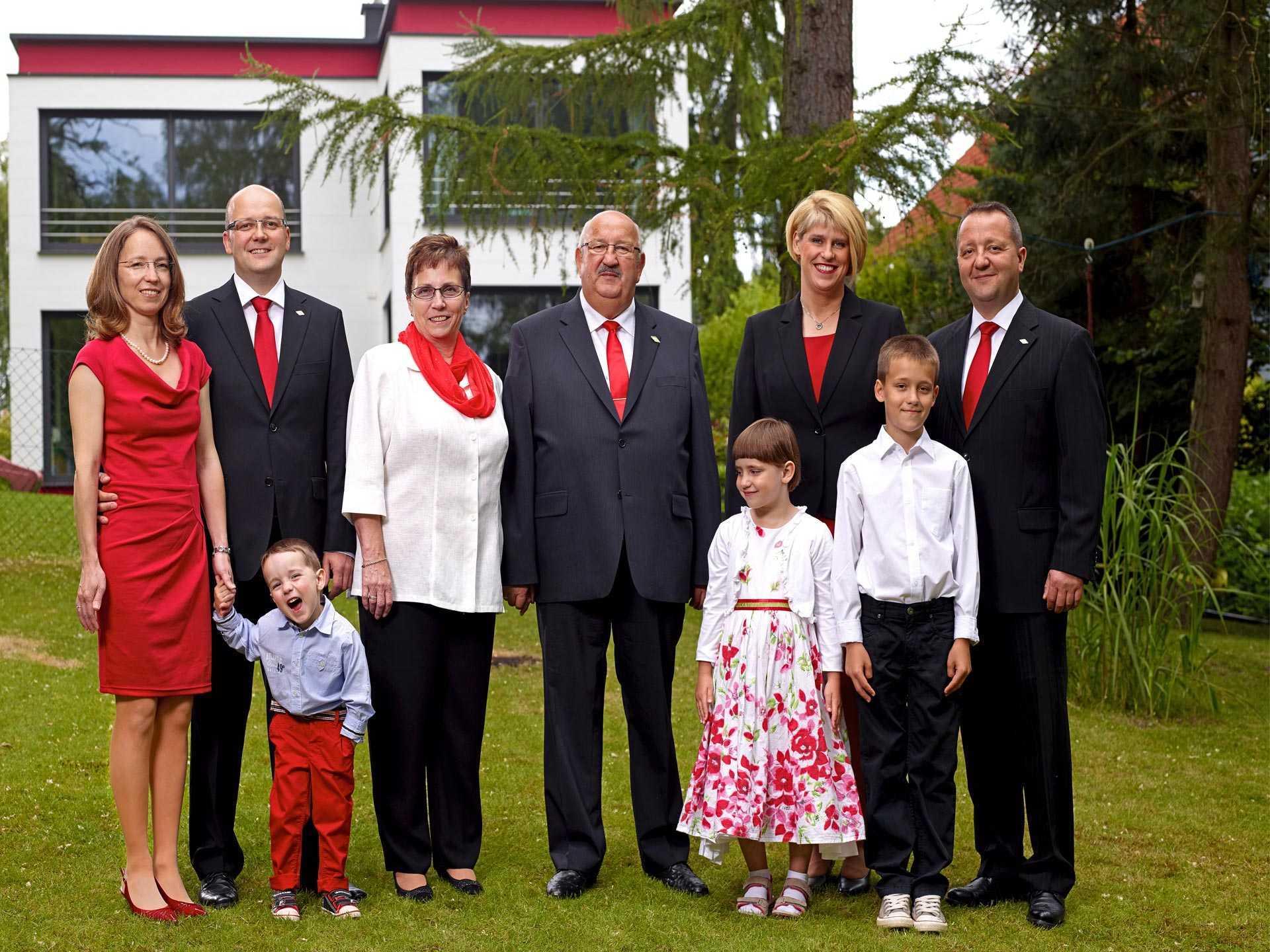 Bau GmbH Roth Familienfoto