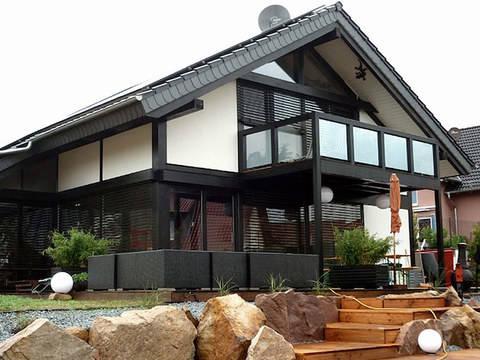 Holzskeletthaus von BEFRA Hausbau