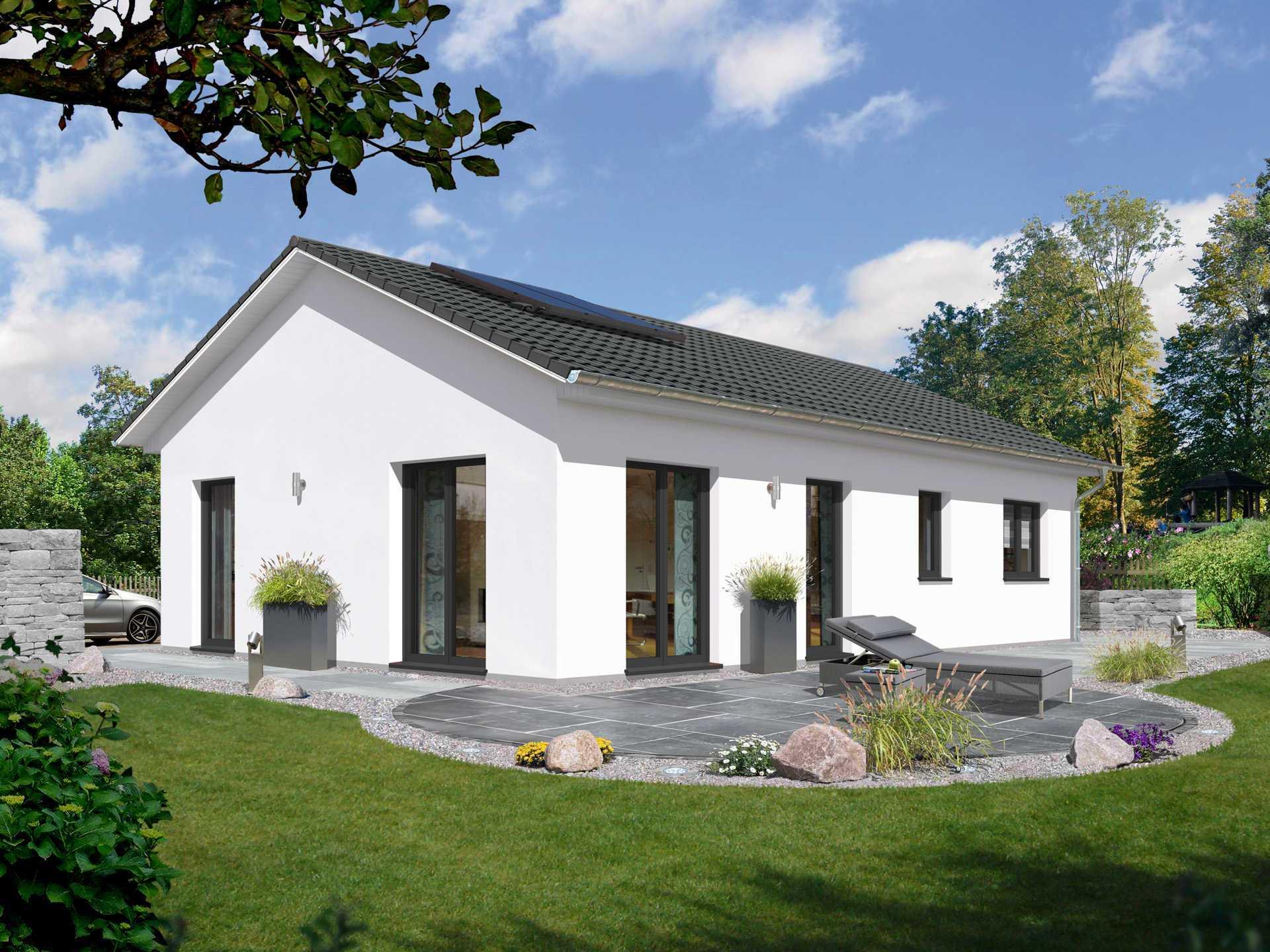 Bungalow 100 Elegance von WOBA-Massivhaus