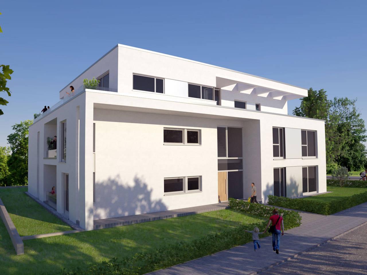 ZENZ Massivhaus Bauhausstil