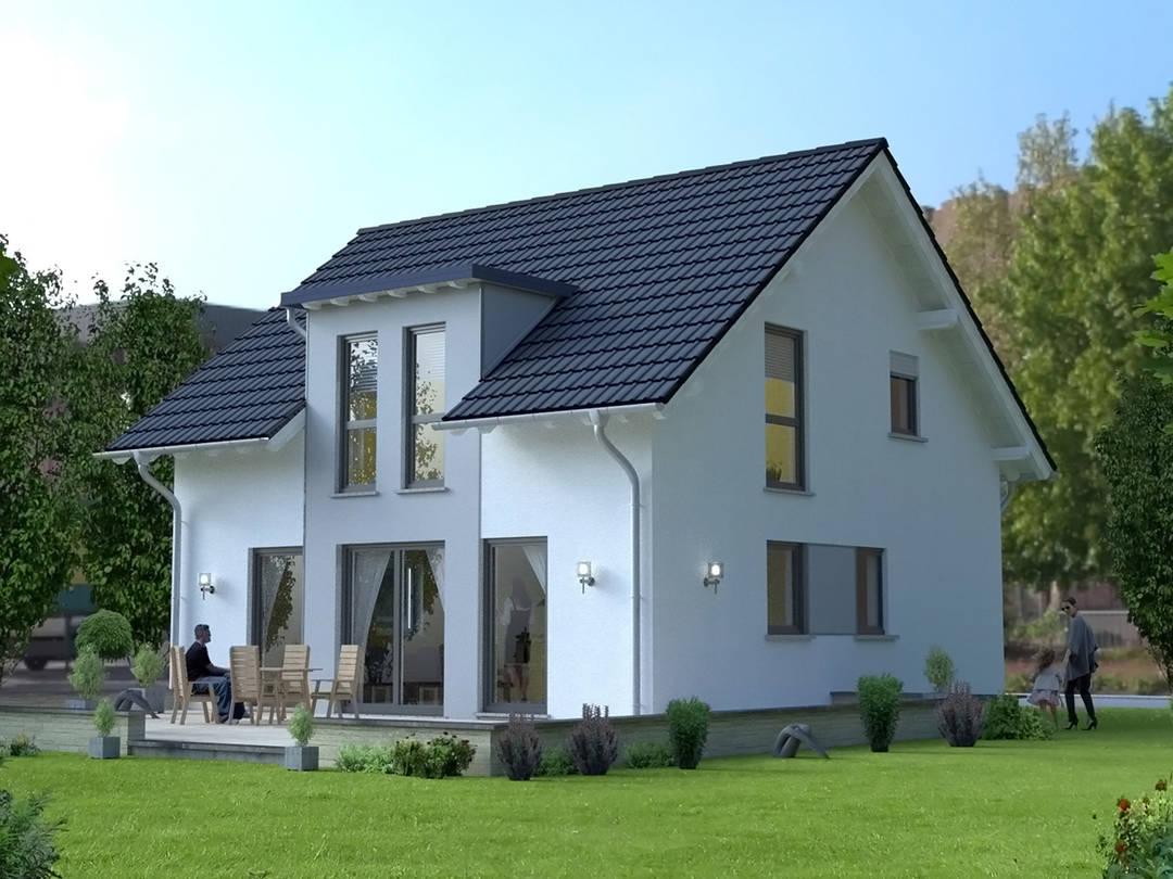 ZENZ-Massivhaus Musterhaus