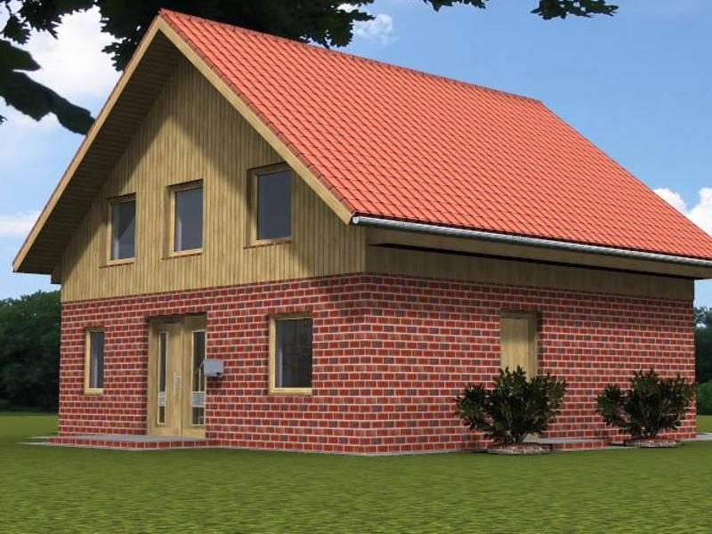Satteldachhaus PE Massivhaus