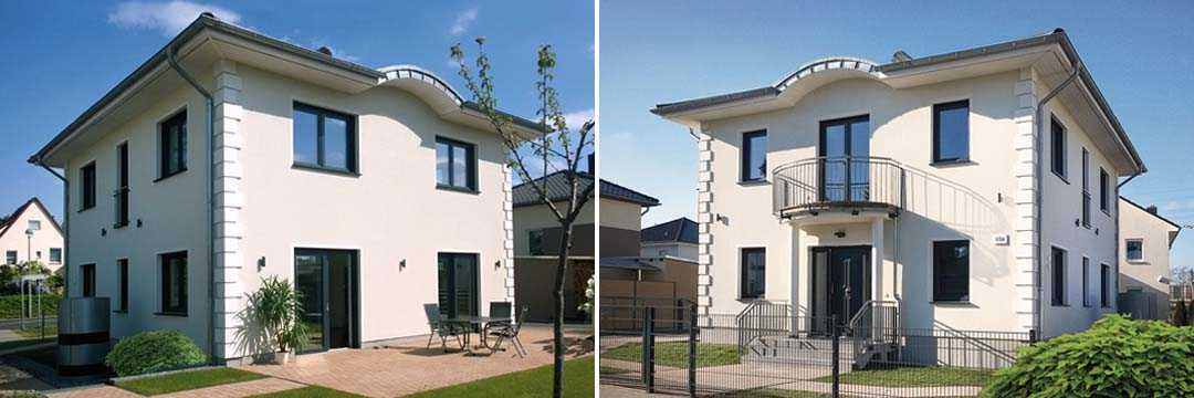 NEWE Massivhaus - Stadtvilla