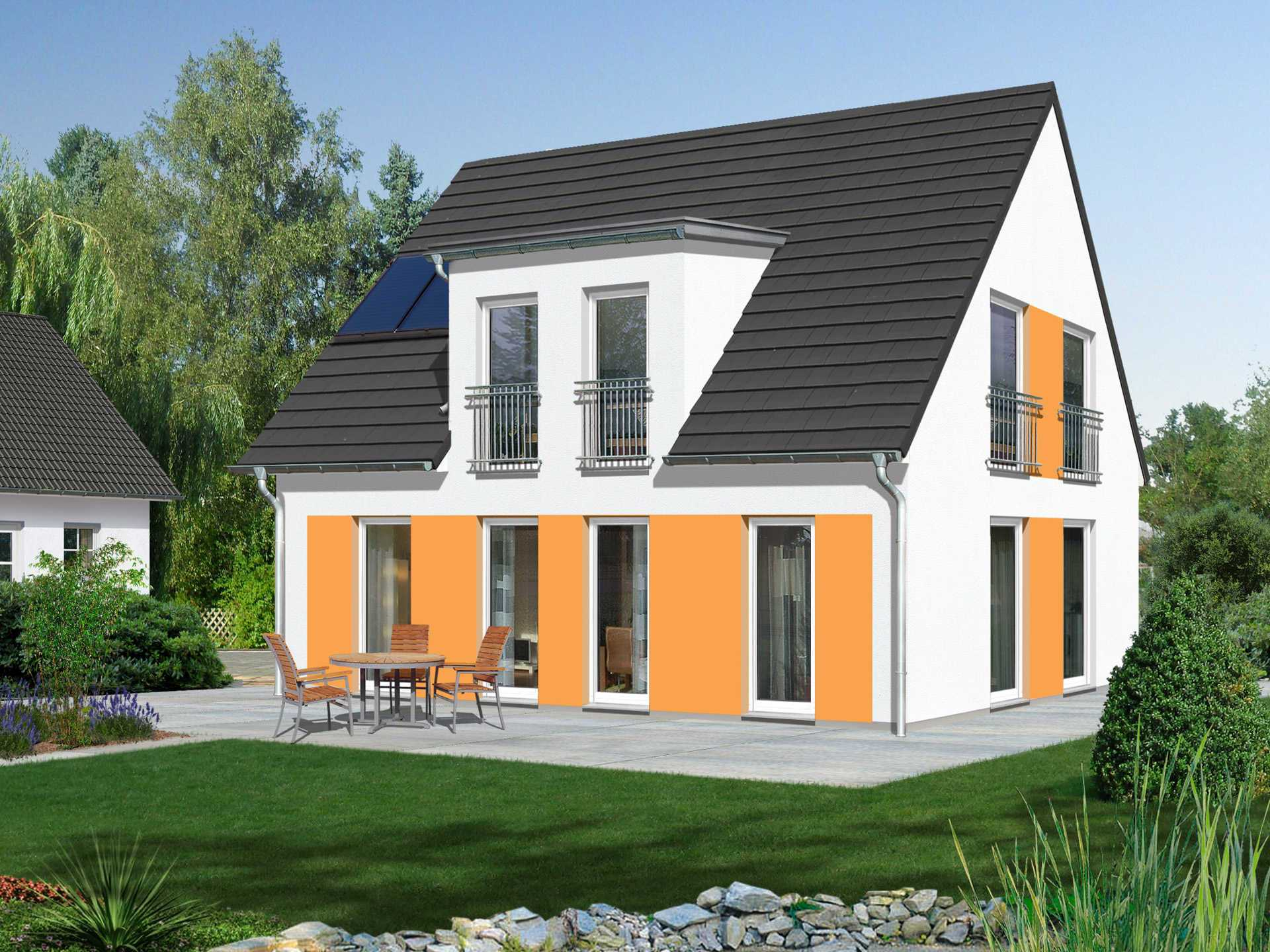 Haus Flair 113 Trend von Massivhaus Bost