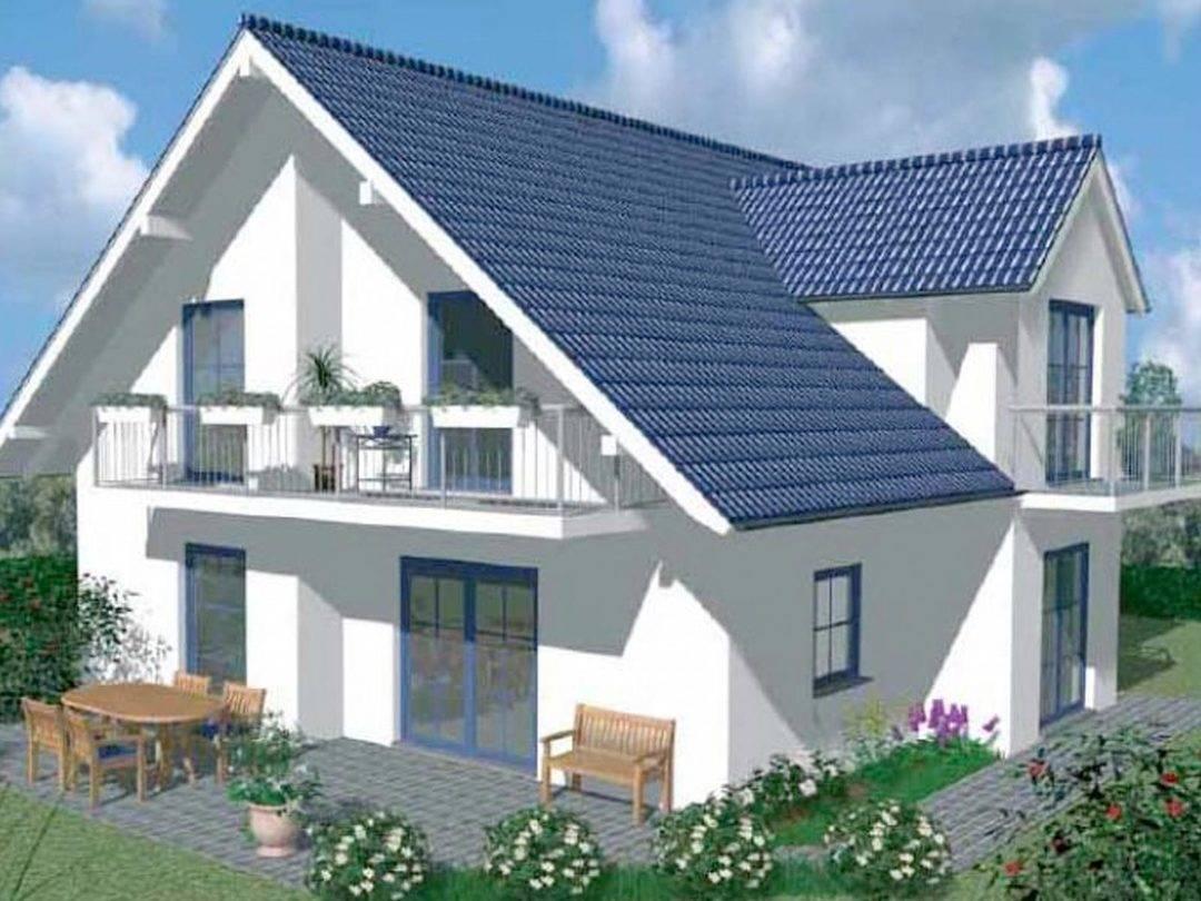 Haustyp C 17 Massivhaus von Plan Bau Hans Göster