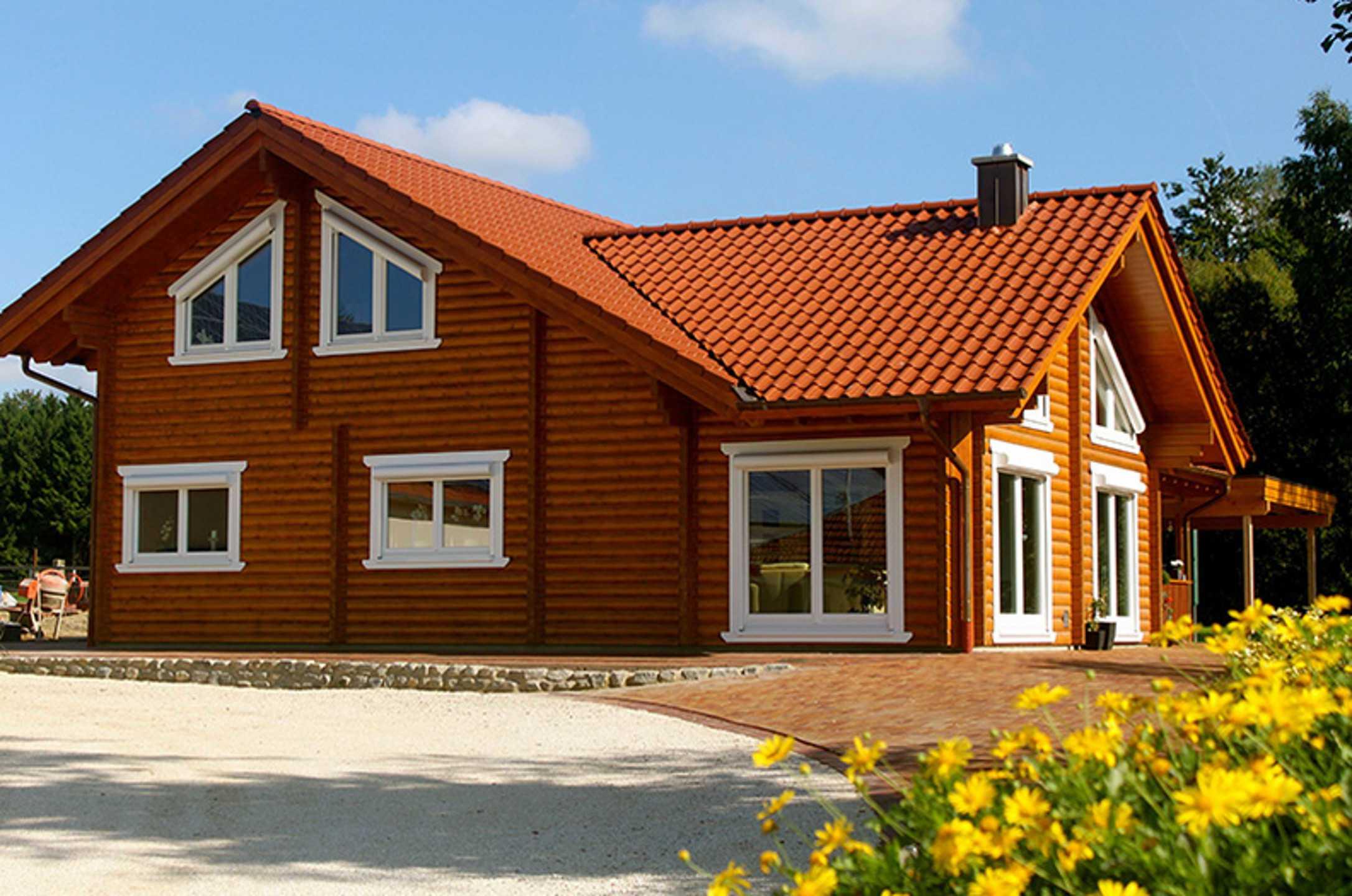 Rundholzhaus Stuckenberg von Nordic Haus