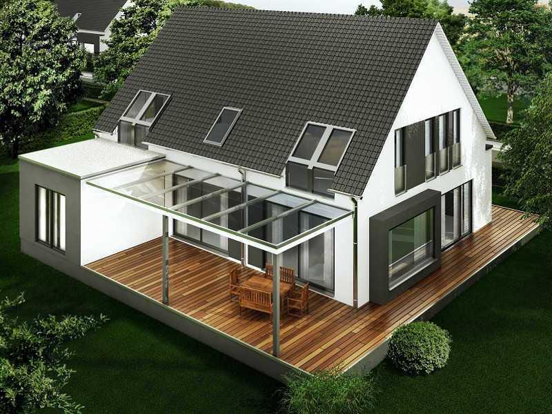 Aussenansicht Beispielhaus1 Aurachtal von Birgit Merx