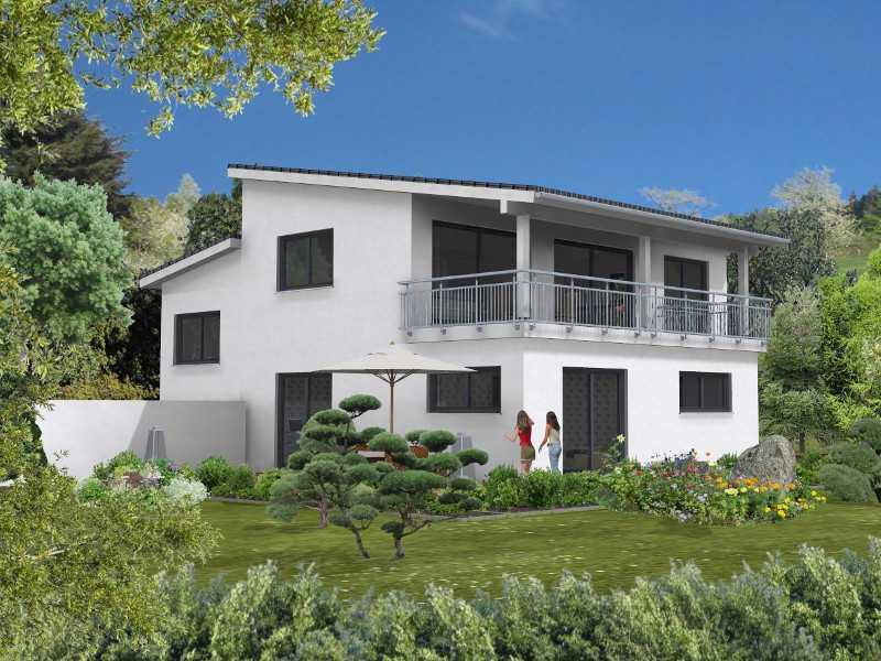 Aussenansicht Beispielhaus2  Oberndorf von Birgit Merx