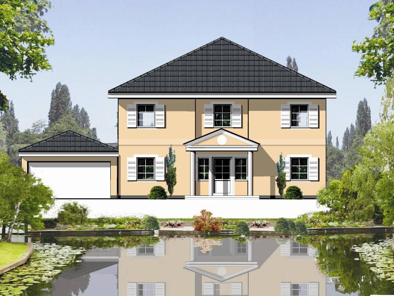 Außenansicht Muserhaus 5 von Planart Häuserwelt