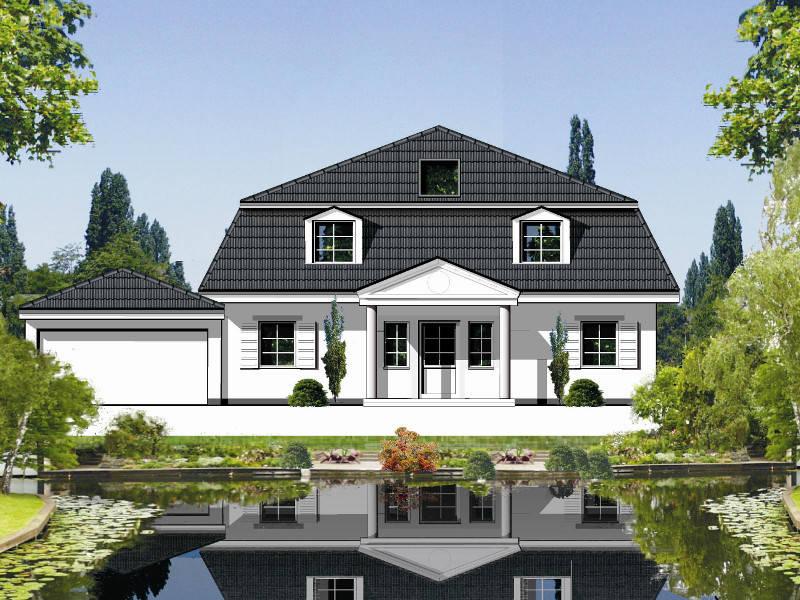 Außenansicht Muserhaus 2 von Planart Häuserwelt